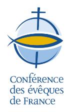 Logo de la Fonférence des évêques de France