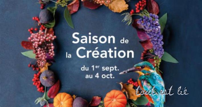 Comment vivre la Saison de la Création
