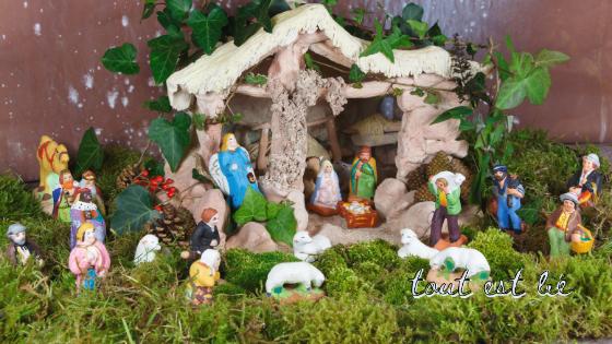 Noël joyeux de la Provence