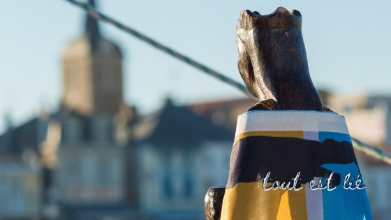 La Vierge de Rocamadour sur le Vendée Globe
